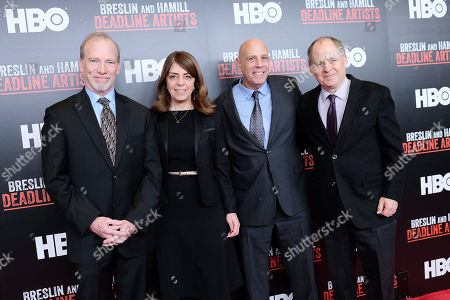 Steve McCarthy, Nancy Abraham (Exec VP; HBO Docs), John Block and Jonathan Alter (Co-Directors)