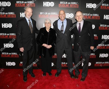 Stock Photo of Steve McCarthy, Ronnie Eldridge, John Block and Jonathan Alter (Co-Directors)