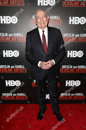 Editorial photo of NYC Premiere of the HBO Documentary Film 'BRESLIN AND HAMILL: DEADLINE ARTISTS', USA - 22 Jan 2019