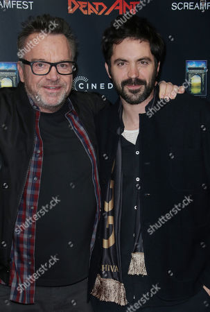 Stock Picture of Tom Arnold and Rhys Coiro