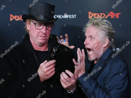 Jake Busey and Gary Busey