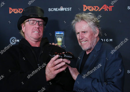 Stock Image of Jake Busey and Gary Busey