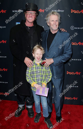 Luke Busey, Jake Busey and Gary Busey