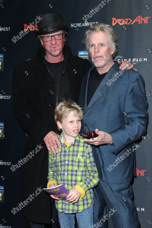 Jake Busey, Gary Busey and Luke Busey