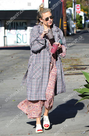 Editorial image of Kate Hudson out and about, Los Angeles, USA - 22 Jan 2019