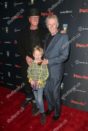 Jake Busey, Luke Busey and Gary Busey
