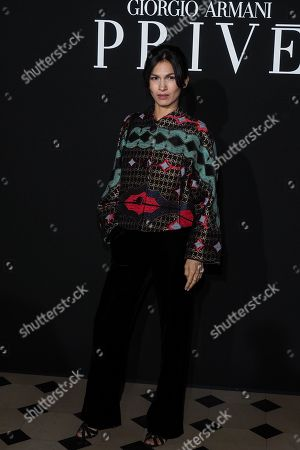 Editorial picture of Giorgio Armani Prive show, arrivals, Spring Summer 2019, Haute Couture Fashion Week, Paris, France - 22 Jan 2019
