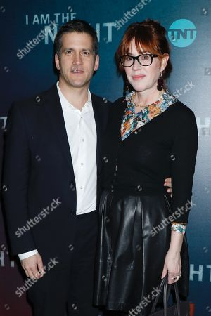 Stock Photo of Panio Gianopoulos and Molly Ringwald