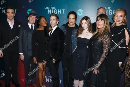 Chris Pine, Jefferson Mays, Golden Brooks, Leland Orser, Yul Vazquez, India Eisley, Sam Sheridan, Patty Jenkins and Connie Nielsen