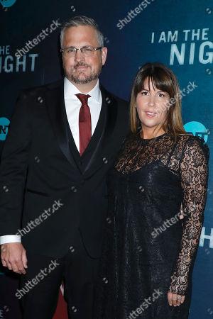Sam Sheridan and Patty Jenkins