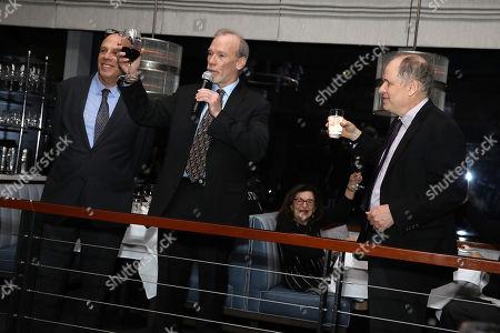 Stock Picture of John Block, Steve McCarthy and Jonathan Alter (Co-Directors)