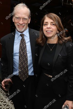 Steve McCarthy (Co-Director) and Nancy Abraham (Exec VP; HBO Docs)