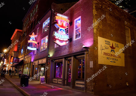 Exterior of Redneck Riviera Bar & BBQ, owned by John Rich from Big & Rich