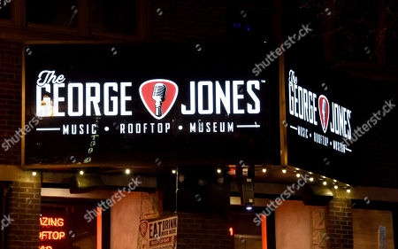 Stock Photo of Exterior of The George Jones, owned by George Jones