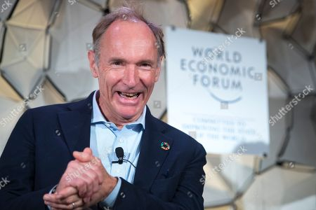 Tim Berners-Lee, Director of World Wide Web Foundation, speaks during a panel session during the 49th Annual Meeting of the World Economic Forum, WEF, in Davos, Switzerland, 23 January 2019. The meeting brings together entrepreneurs, scientists, corporate and political leaders in Davos under the topic 'Globalization 4.0' from 22 to 25 January 2019.