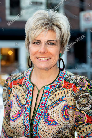 Princess Laurentien and Lieke van Lexmond visit to Corantijn school, Amsterdam