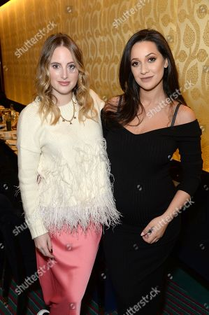 Rosie Fortescue and Roxie Nafousi