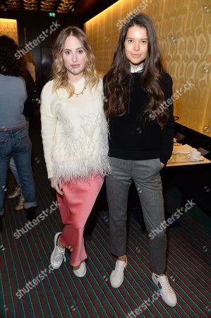 Rosie Fortescue and Sarah Ann Macklin