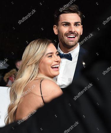 Ellie Brown and Adam Collard