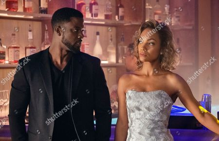 Lance Gross as Maurice Jetter and Lyndie Greenwood as Megan Jetter