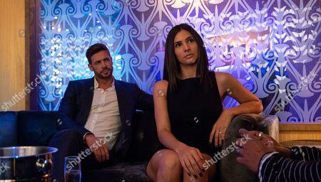 William Levy as Mateo and Camila Banus as Nina
