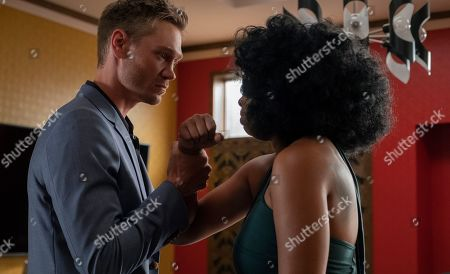 Chad Michael Murray as Xander McPherson and Brandy as Cassie Brown