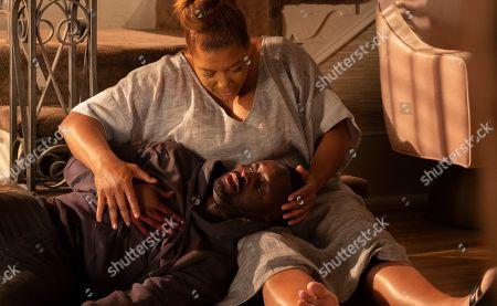 Queen Latifah as Carlotta Brown and Elijah Kelley as Andy