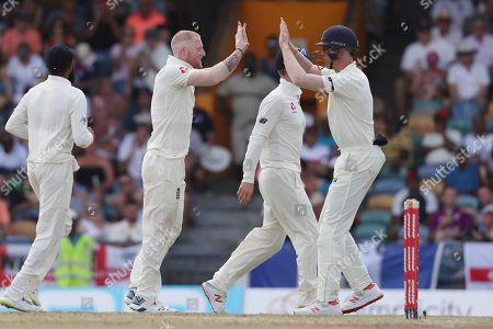 West Indies v England, Day 1