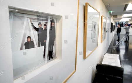 The exhibition Unseen Beatles in art'otel in Amsterdam, 23 January 2019. The private collection of exclusive photos is owned by Dutch Ivo de Lange, a good friend of photographer Robert Whitaker, who travelled with the band as a home photographer between 1964 and 1966. After the exhibition the photos will be auctioned.