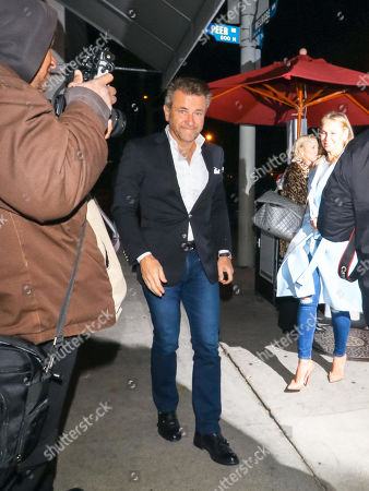 Editorial picture of Robert Herjavec and Kym Herjavec out and about, Los Angeles, USA - 22 Jan 2019