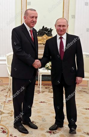 President of Turkey Recep Tayyip Erdogan visit to Moscow