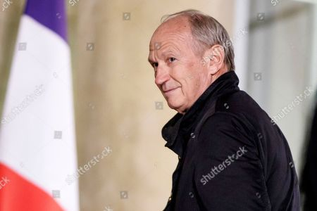 L'Oreal CEO Jean-Paul Agon arrives for a state dinner hosted by the French President for the Israeli President at the Elysee palace in Paris, France, 23 January 2019. Rivlin is in Paris on an official visit.