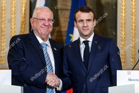 Israeli President Reuven Rivlin visit to Paris