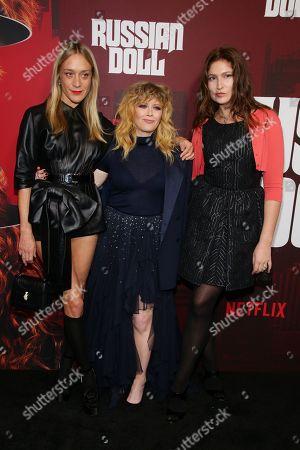 Chloe Sevigny, Natasha Lyonne, and Stella Schnabel