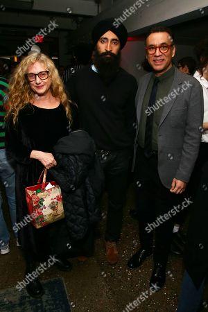 Stock Photo of Carol Kane, Waris Ahluwalia, and Fred Armisen