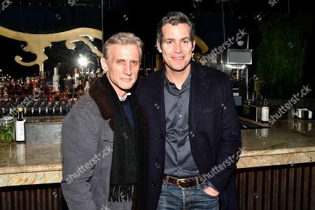 Stock Image of Dan Abrams and Douglas Brunt