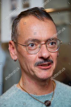 Viktor Horsting backstage