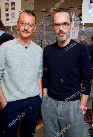 Viktor Horsting and Rolf Snoeren backstage
