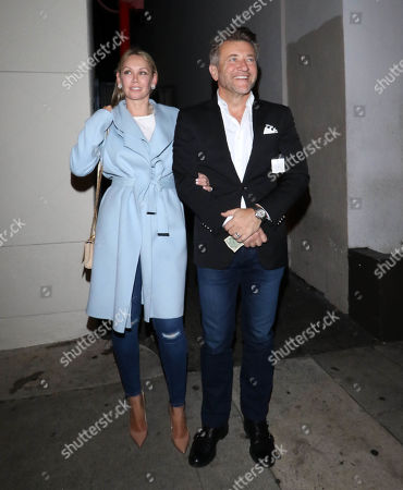 Editorial photo of Robert Herjavec and Kym Herjavec out and about, Los Angeles, USA - 22 Jan 2019
