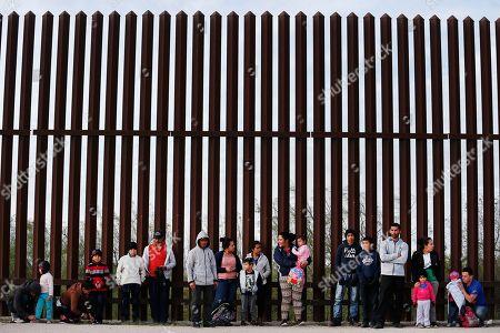 US Mexico border, McAllen, Texas