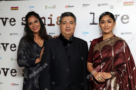Richa Chadha, Tabrez Noorani, Mrunal Thakur.
