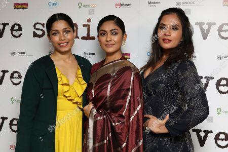 Freida Pinto, Mrunal Thakur, Richa Chadha