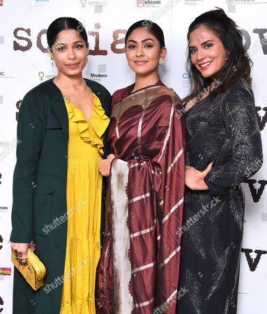Freida Pinto, Mrunal Thakur and Richa Chadda