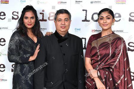 Richa Chadda, Tabrez Noorani and Mrunal Thakur