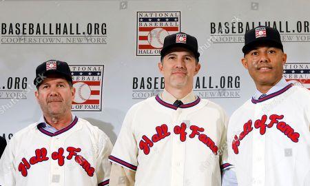 Baseball Hall of Fame press conference, New York