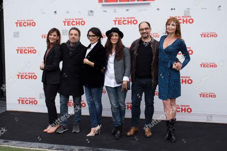 Editorial picture of 'Bajo el mismo techo' film photocall, Madrid, Spain - 22 Jan 2019