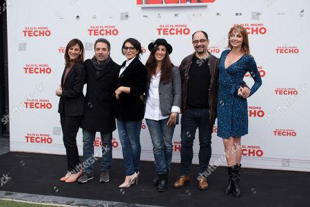Editorial photo of 'Bajo el mismo techo' film photocall, Madrid, Spain - 22 Jan 2019