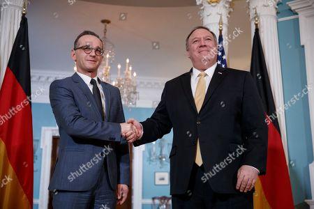 German Foreign Minister Heiko Maas visit to Washington DC