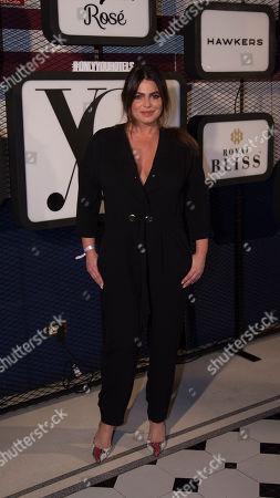 Editorial picture of Fiesta Yo Dona show, arrivals, Mercedes Benz Fashion Week Madrid, Spain - 22 Jan 2019
