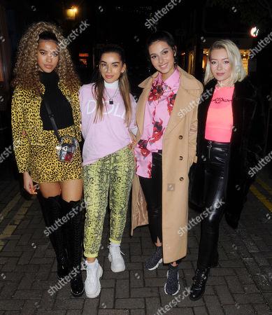 Stock Picture of Four of Diamonds - Yasmin Lauryn, Caroline Alvares, Sophia Saffarian and Lauren Rammell